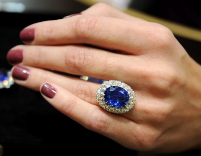 Replica of Kate Middleton's ring