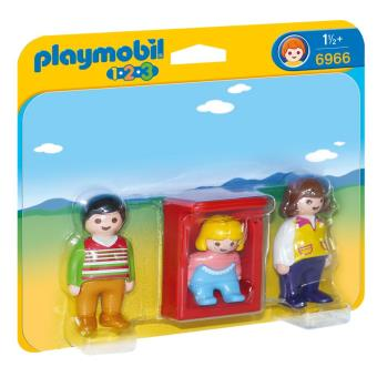Playmobil-1-2-3-Parents-avec-bebe